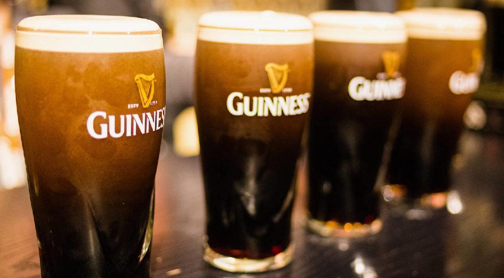 Guinness пиво с капсулой