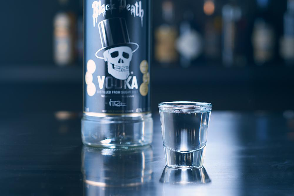 Водка черная смерть