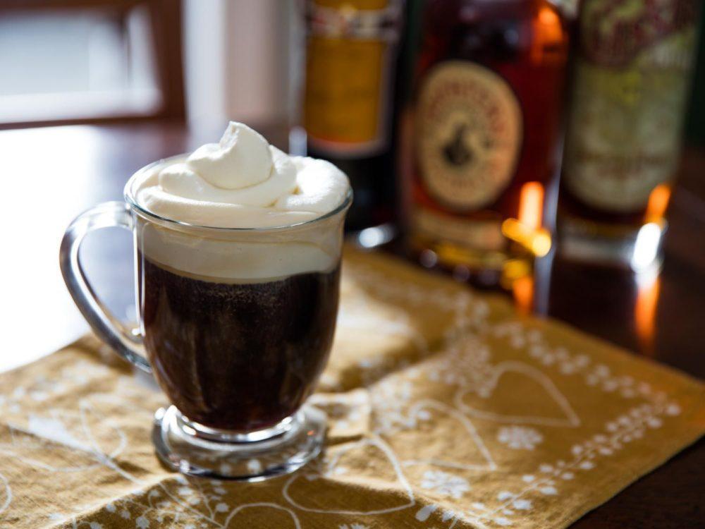 Коктейль ром с кофе