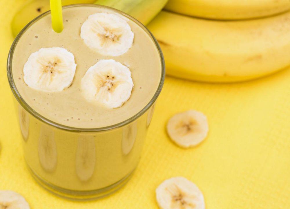 Милкшейк с бананом