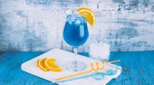 Коктейль голубая лагуна