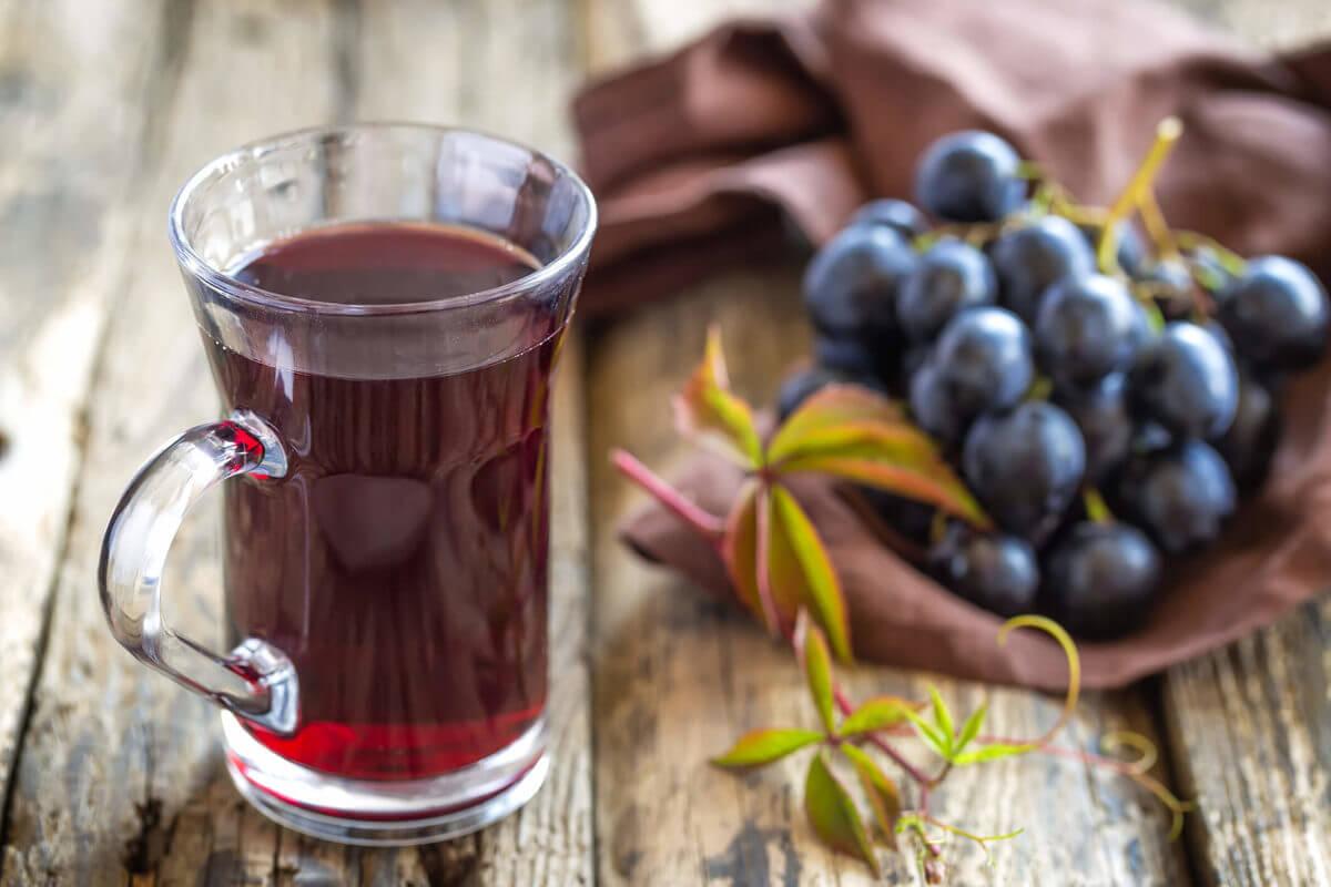Глинтвейн из виноградного сока
