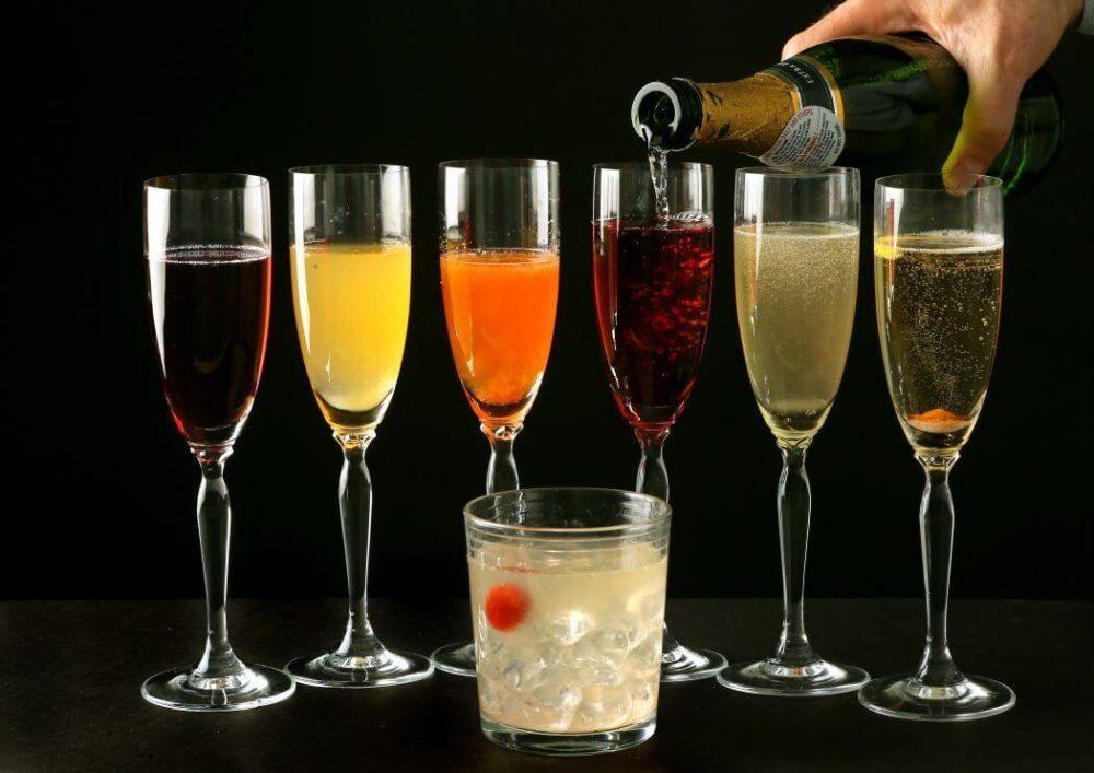 Мартини с шампанским