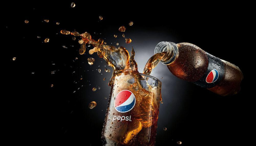 «Пепси» в стакане