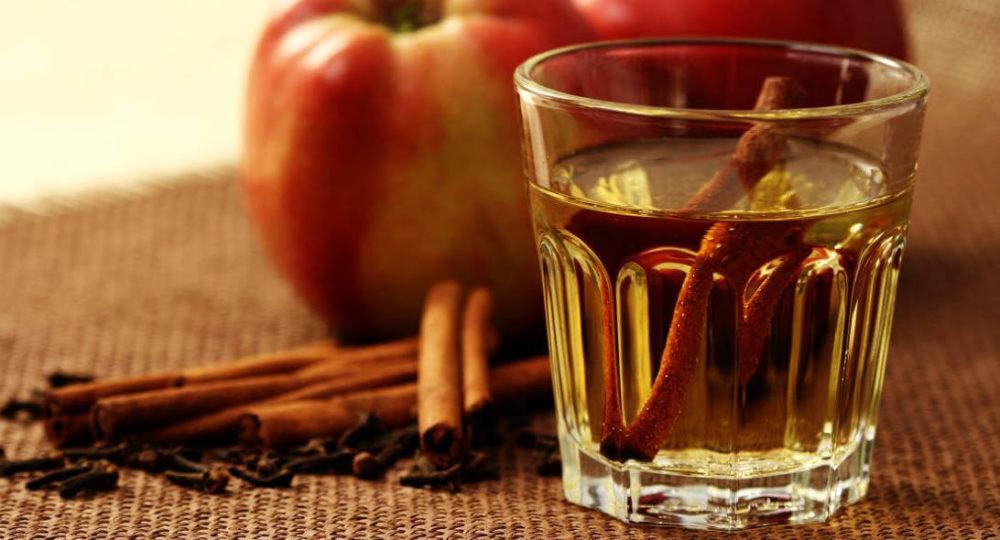 Коктейль виски с яблочным соком