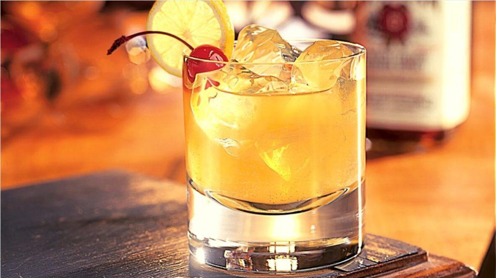 Коктейль «Whiskey Sour»